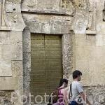 Puerta exterior de San Esteban. Mezquita Catedral. Ciudad de CORDOBA. Patrimonio de la Humanidad. Andalucia. España