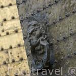 Detalle de la puerta de Santa Catalina. Mezquita Catedral. Ciudad de CORDOBA. Patrimonio de la Humanidad. Andalucia. España