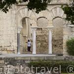 Edificio Basilical superior. Conjunto arqueologico Madinat al-Zahra. En las afueras de la ciudad de CORDOBA. Andalucia. España