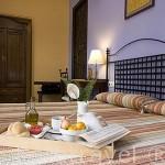 Habitacion. Hotel La Casa de los Azulejos. Casco historico de la ciudad de CORDOBA. Patrimonio de la Humanidad. Andalucia. España