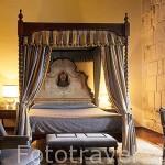 Habitación del hotel, museo y antiguo hospital de peregrinos del camino de Santiago, San Marcos. LEÓN. Castilla y León. España