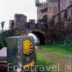 Castillo templario (s.XI-XIV). Romanico/ Gótico. PONFERRADA. León. Castilla y León. España.