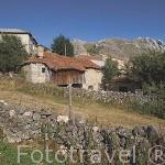 Casas en el pueblo de VILLAFELIZ. Comarca de Babia. Leon. Castilla y Leon. España