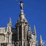 Detalle de la catedral. ASTORGA. Provincia de Leon. España. Spain