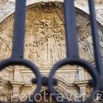 Fachada y portico de la catedral. ASTORGA. Provincia de Leon. España. Spain