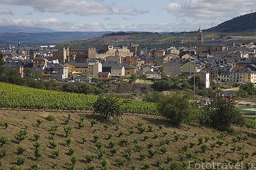Ciudad de PONFERRADA. Provincia de Leon. España. Spain