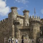 Castillo templario, s.XII- XVI. Ciudad de PONFERRADA. Provincia de Leon. España. Spain