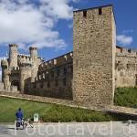 Castillo templario, s.XII- XVI. Junto al Camino de Santiago. Ciudad de PONFERRADA. Provincia de Leon. Castilla y Leon. España. Spain