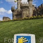 Castillo templario, s.XII- XVI. Junto al Camino de Santiago. Ciudad de PONFERRADA. Provincia de Leon. España. Spain