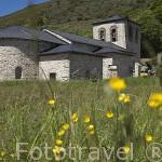 Iglesia de Santa Maria. (romanico - renacimiento). Población de BALBOA. Provincia de Leon. España. Spain