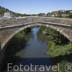 Puente Boeza. Población de PONFERRADA. Provincia de Leon. España. Spain
