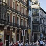 Calle Ancha peatonal LEON. Provincia de Leon. Castilla y Leon. España. Spain