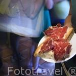 Restaurante El Llar. Plaza de San Martin. Ciudad de LEON. Provincia de Leon. Castilla y Leon. España. Spain