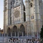 Catedral. Ciudad de LEON. Provincia de Leon. Castilla y Leon. España. Spain