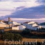 Pueblo de CAZALLA DE LA SIERRA. Dentro del parque natural de la sierra norte. Sevilla. España