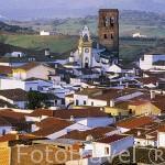 El pueblo de GUADALCANAL. Sierra Norte. Sevilla. España.