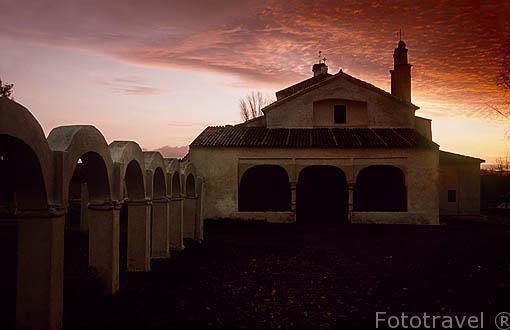 Ermita de Guaditoca.GUADALCANAL. Sierra norte. Sevilla. España.