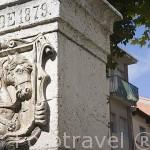 Escudo del pueblo de CUELLAR. Comarca de Tierra de Pinares. Segovia. Castilla y León. España