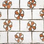 Pinturas murales en el abside interior. Iglesia de San Andres. Estilo mudejar. Pueblo de CUELLAR. Comarca de Tierra de Pinares. Segovia. Castilla y León. España
