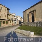 Iglesia mudejar de San Martin junto al castillo. Monumento artistico desde 1931. Pueblo de CUELLAR. Comarca de Tierra de Pinares. Segovia. Castilla y León. España