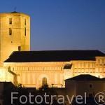 Iglesia de San Andres. Estilo mudejar. Pueblo de CUELLAR. Comarca de Tierra de Pinares. Segovia. Castilla y León. España
