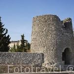 El Cubo. Antiguo molino de viento, s.XVI. Pueblo de CUELLAR. Comarca de Tierra de Pinares. Segovia. Castilla y León. España