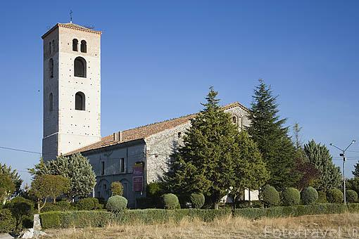 Iglesia de Santa Maria de la Cuesta. Pueblo de CUELLAR. Comarca de Tierra de Pinares. Segovia. Castilla y León. España