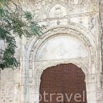 Iglesia romanica de Santa Maria en FUENTEPELAYO. Comarca de Tierra de Pinares. Segovia. Castilla y León. España