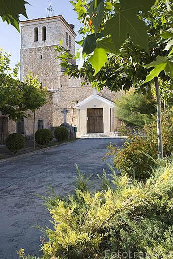 Iglesia en LASTRAS DE CUELLAR. Comarca de Tierra de Pinares. Segovia. Castilla y León. España