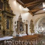 Iglesia de Santa Marina. s. XV. Pueblo de SACRAMENIA. Comarca de Tierra de Pinares. Segovia. Castilla y León. España