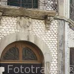 Casa de las Conchas. Pueblo de AGUILAFUENTE. Comarca de Tierra de Pinares. Segovia. Castilla y León. España