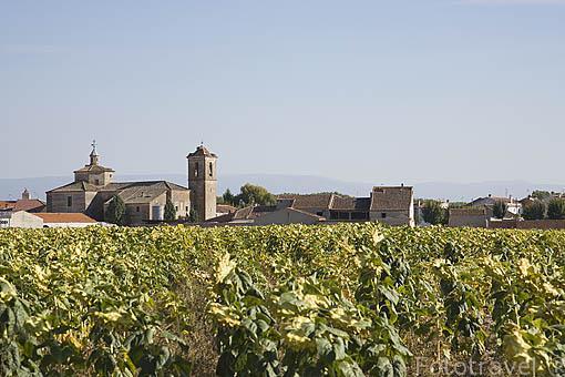 Pueblo de SAUQUILLO DE CABEZAS. Comarca de Tierra de Pinares. Segovia. Castilla y León. España