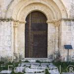 Iglesia de San Cristobal, de estilo romanico del Piron. Pueblo de LA CUESTA. Comarca de Tierra de Pinares. Segovia. Castilla y León. España