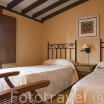 Casa rural Otero de Sacramenia. Pueblo de SACRAMENIA. Comarca de Tierra de Pinares. Segovia. Castilla y León. España