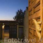 Entrada recepción. Casa rural De Hechizo. CARRASCAL DE LA CUESTA. Comarca de Tierra de Pinares. Segovia. Castilla y León. España