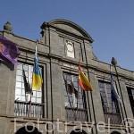 Edificio del Ayuntamiento. SAN CRISTOBAL DE LA LAGUNA. Patrimonio UNESCO. Tenerife. Islas Canarias. España