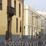 Calle Obispo Rey Redondo o La Carrera. SAN CRISTOBAL DE LA LAGUNA. Patrimonio UNESCO. Tenerife. Islas Canarias. España