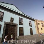 Edificio de la Alhondiga, s.XVIII. Calle Obispo Rey Redondo o La Carrera. SAN CRISTOBAL DE LA LAGUNA. Patrimonio UNESCO. Tenerife. Islas Canarias. España