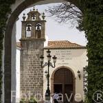 Fachada del Santuario del Cristo de la Laguna. SAN CRISTOBAL DE LA LAGUNA. Patrimonio UNESCO. Tenerife. Islas Canarias. España