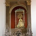 Virgen de la Inmaculada Concepción. S.XIX. Por Fernando Estevez. En la iglesia Concepción. SAN CRISTOBAL DE LA LAGUNA. Patrimonio UNESCO. Tenerife. Islas Canarias. España