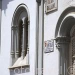 Calle Dean Palahi junto a la catedral. SAN CRISTOBAL DE LA LAGUNA. Patrimonio UNESCO. Tenerife. Islas Canarias. España