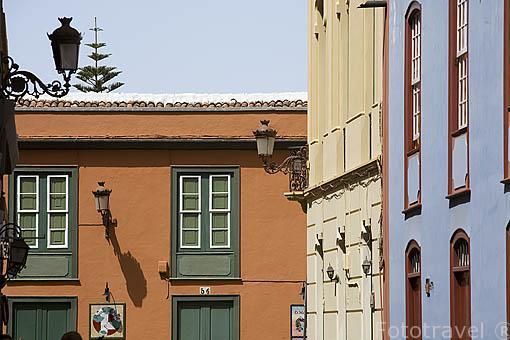 Calle Ascario y Nieves. SAN CRISTOBAL DE LA LAGUNA. Patrimonio UNESCO. Tenerife. Islas Canarias. España