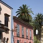 Edificios en calle Agustin. SAN CRISTOBAL DE LA LAGUNA. Patrimonio UNESCO. Tenerife. Islas Canarias. España