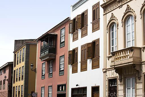 Calle Viana o El Pino. SAN CRISTOBAL DE LA LAGUNA. Patrimonio UNESCO. Tenerife. Islas Canarias. España