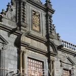 Fachada del Palacio de Nava. Monumento desde 1976. Estilos: Manierista, barroco y neoclasico. SAN CRISTOBAL DE LA LAGUNA. Patrimonio UNESCO. Tenerife. Islas Canarias. España