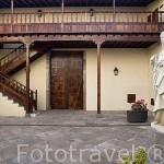 Patio interior. Iglesia convento de Santa Catalina de Siena. SAN CRISTOBAL DE LA LAGUNA. Patrimonio UNESCO. Tenerife. Islas Canarias. España
