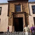 Casa de Alvarado-Bracamonte o de los Capitanes. SAN CRISTOBAL DE LA LAGUNA. Patrimonio UNESCO. Tenerife. Islas Canarias. España