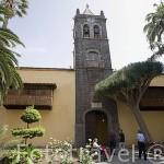 """Iglesia y exconvento de San Agustin. S.XVI. (Instituto de Canarias """"Cabrera Pinto""""). SAN CRISTOBAL DE LA LAGUNA. Patrimonio UNESCO. Tenerife. Islas Canarias. España"""