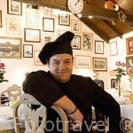 Cocinero y dueño. Benito Alvarez Vera. Restaurante El Timple. En calle Candillas 4. SAN CRISTOBAL DE LA LAGUNA. Patrimonio UNESCO. Tenerife. Islas Canarias. España
