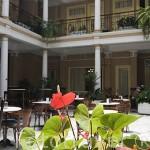Patio interior. Hotel Aguere. Calle La Carrera o Obispo Rey Redondo. SAN CRISTOBAL DE LA LAGUNA. Patrimonio UNESCO. Tenerife. Islas Canarias. España